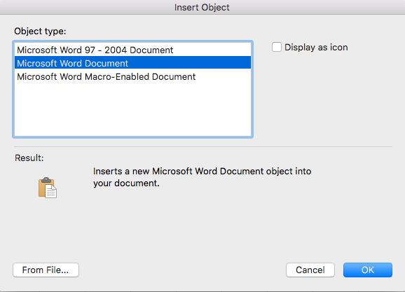Embed_Word_Excel_MAC