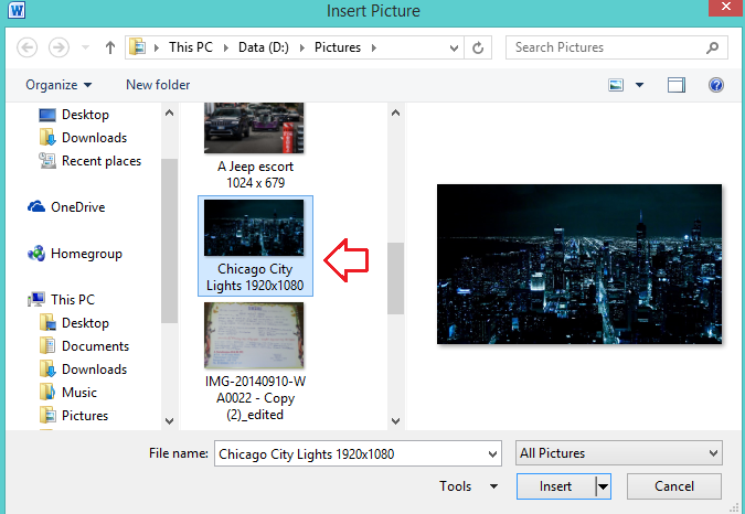 How to add picture captions to PowerPoint & Word 2016 and