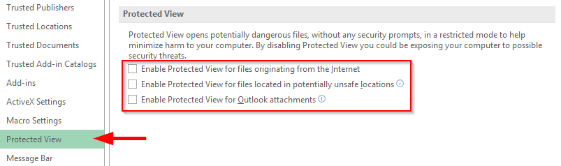 excel not opening files office 365